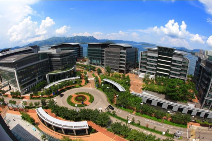 hk science park Park_Birdview