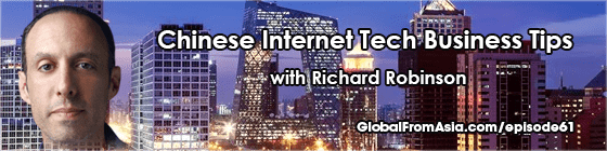 richard robinson beijing startup Podcast global from asia