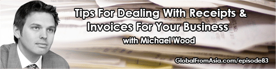 company receipt bank michael wood managing invoices Podcast2