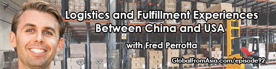 fred logistics fulfillment china usa Podcast2
