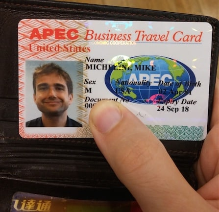 How to get your apec business travel card ie asia vip card back of the apec card countries valid for colourmoves