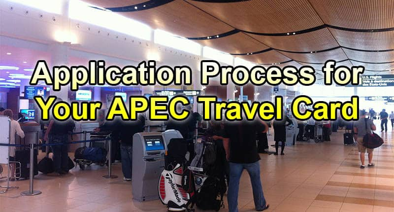 how to get your apec business travel card ie asia vip