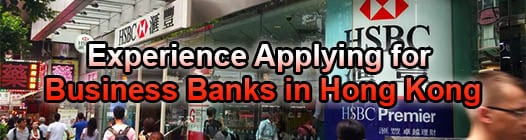 Applying To Hong Kong Banks? Results After Visiting 20 in 2 days (As