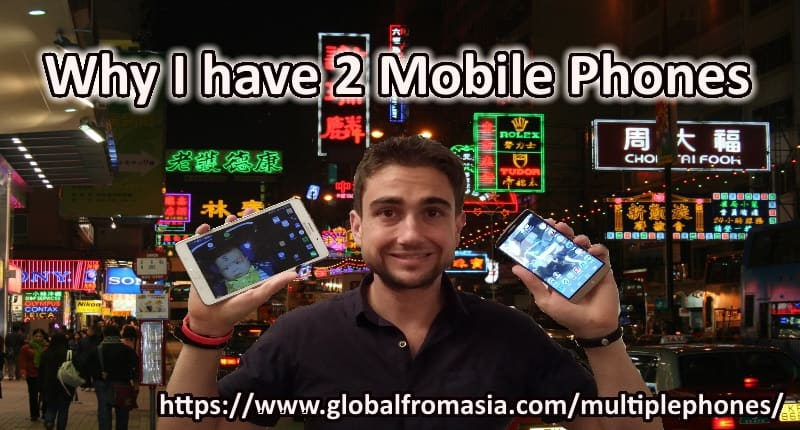 2 mobile phones - thumbnail