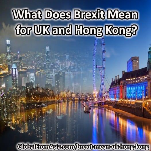 Brexit UK Hong Kong banner