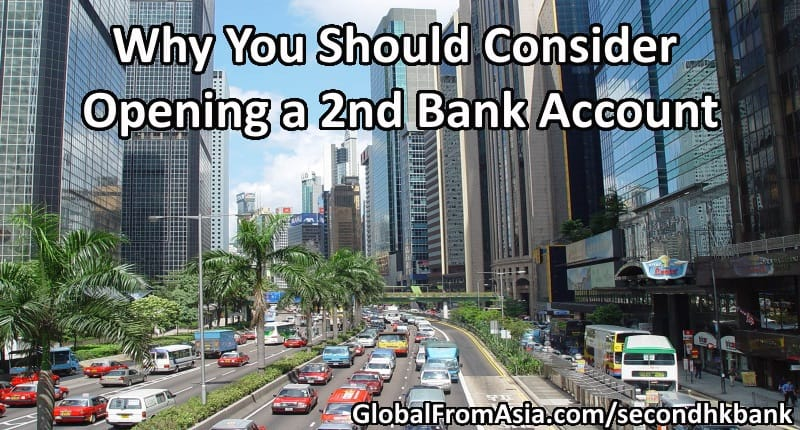 how to open a second bank account