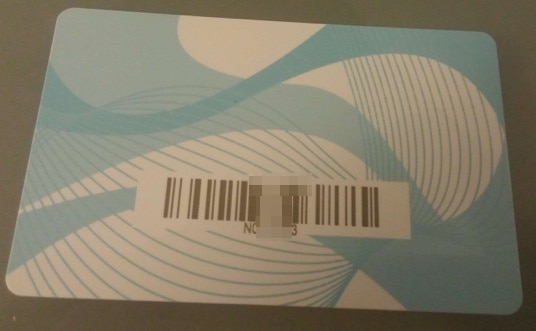 e-estonia residency card back side