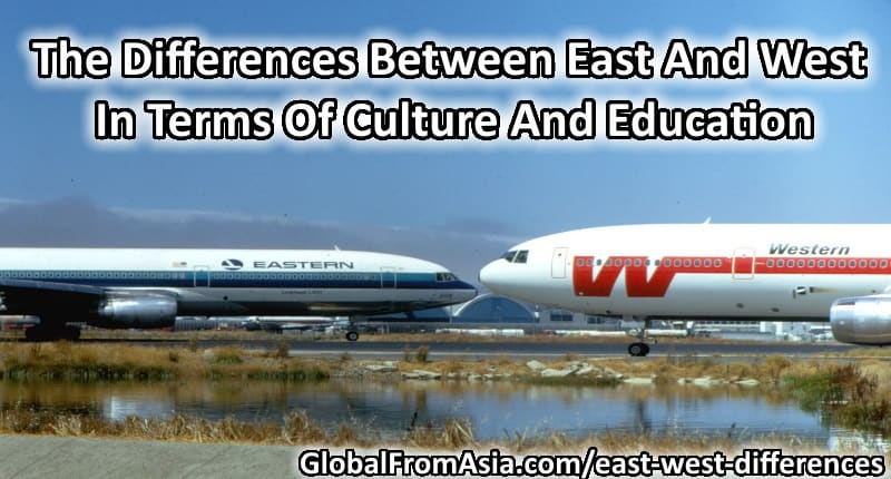 differences of east and west european Business differences between east and west cultural differences: asian business customs asia the distinct countries of europe and north america (the west.