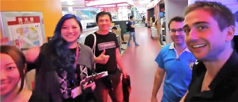 Have a great time together and learn about electronics in China