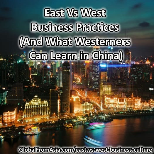 a comparison of western and eastern business culture and practices Management styles comparison essay by quality writers  the role of culture in business management: western versus eastern  western and eastern workers:.