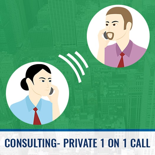 Private consulting call