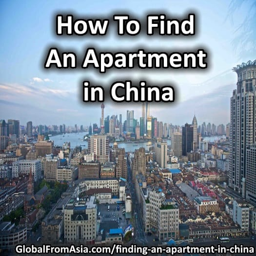 Finding an apartment in China