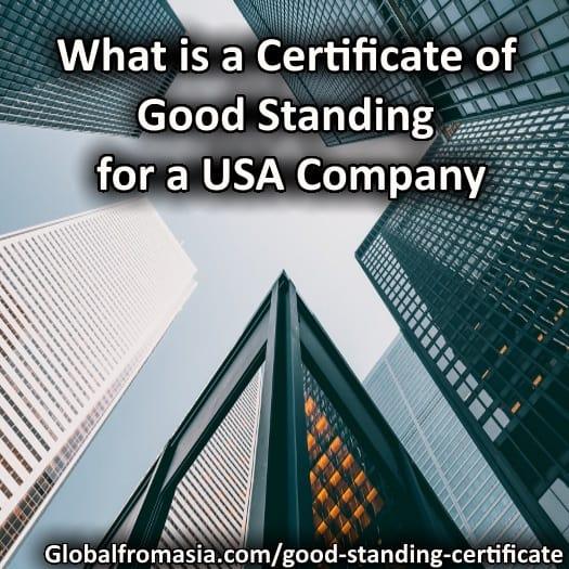 certificate standing wyoming