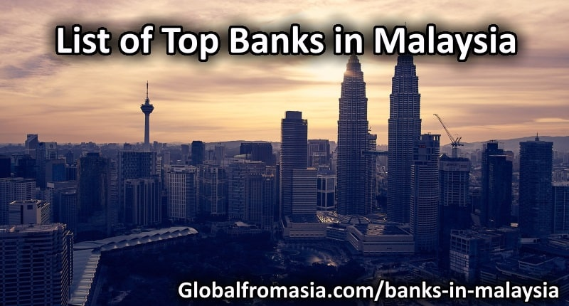 List Of Top Banks In Malaysia
